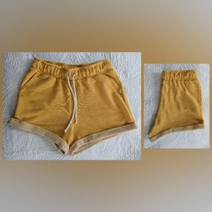 Forever 21   Yellow shorts   small